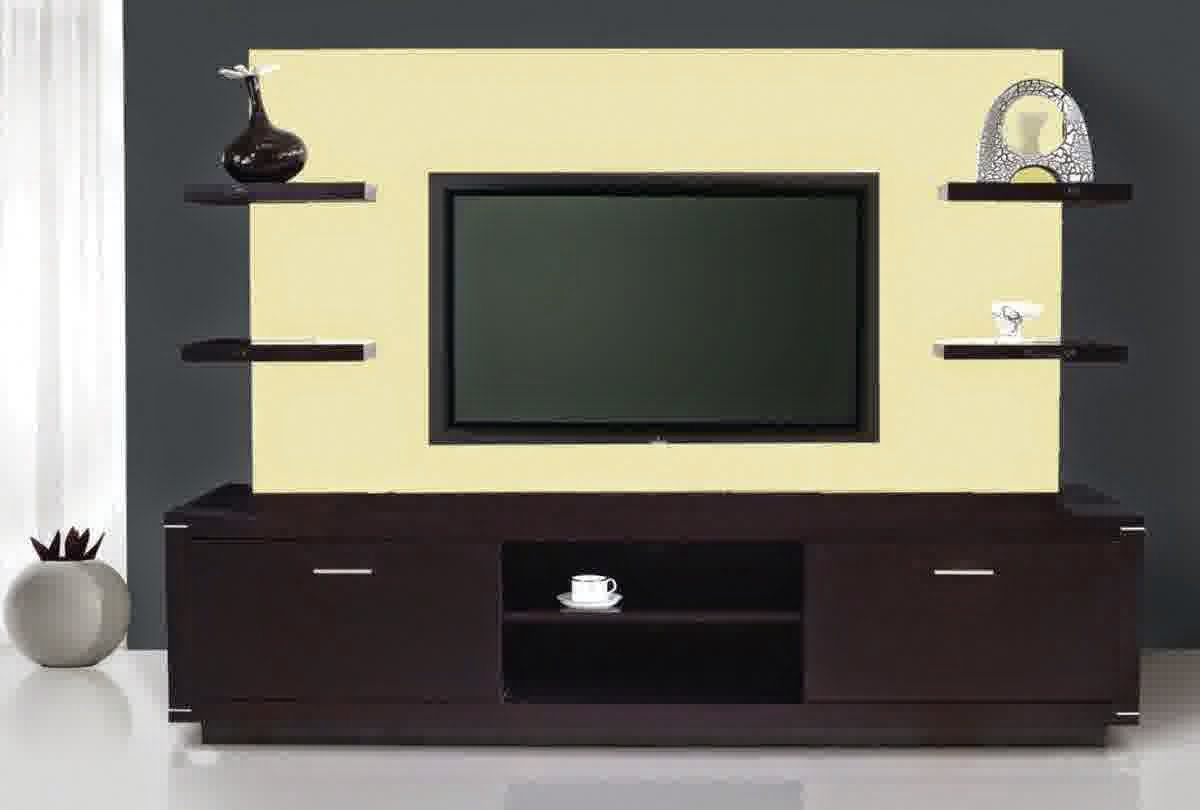 Floating Media Shelf Wall Mount Tv Stand Entertainment Center ...