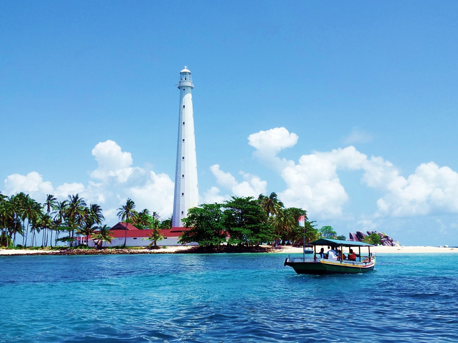 how to go belitung island from singapore