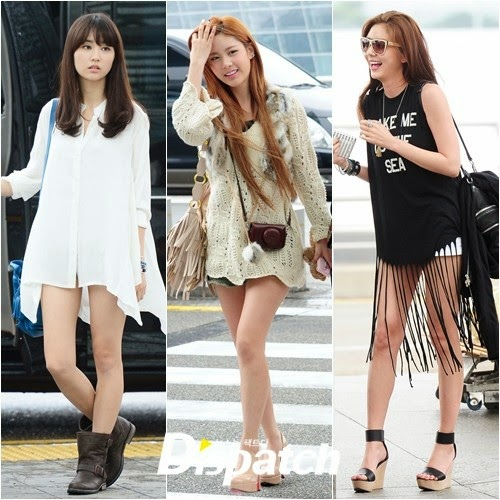 Model Baju Musim Panas Artis Korea