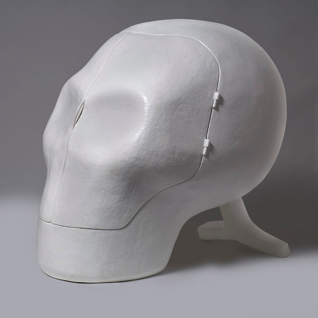 Sensory Deprivation Skull - Atelier Van Lieshout (2007)