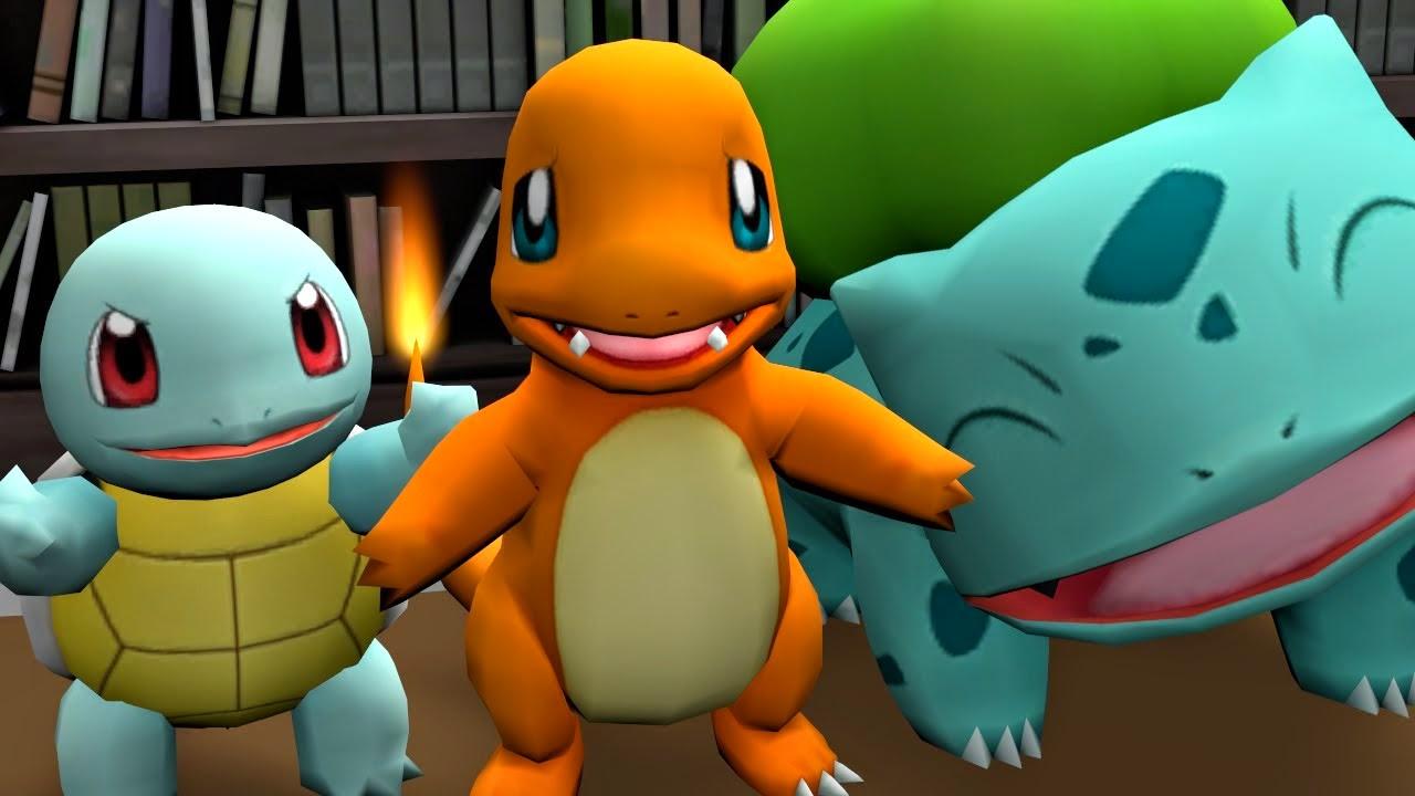 pokemon starter wild encounter parody