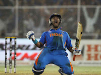 yuvraj singh images-yuvraj singh celebrates after world cup victory
