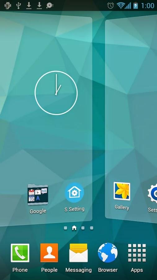 S Launcher (Galaxy S5 Launcher) Prime v2.6