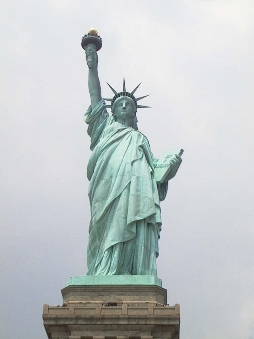 Interesting history - Statue of Liberty