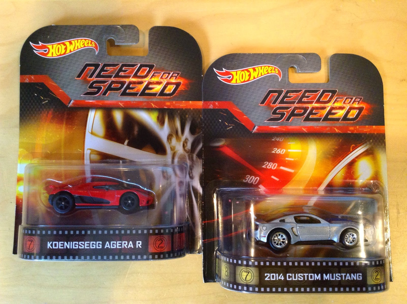 Movie Need For Speed And They Were Included In The Hot Wheels Retro Entertainment Series Both Cars Are Detailed More Than Usual