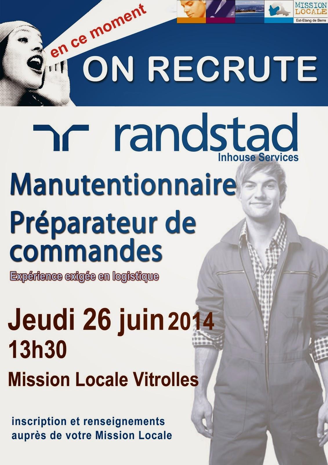 randstad recrute  u00e0 la mission locale de vitrolles