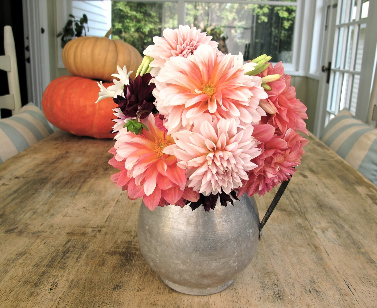 Jenny Steffens Hobick Dahlias Fall Flowers From The