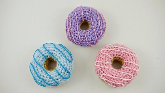 Amigurumi Donut Patron : Bichus Amigurumis: Donuts Amigurumi