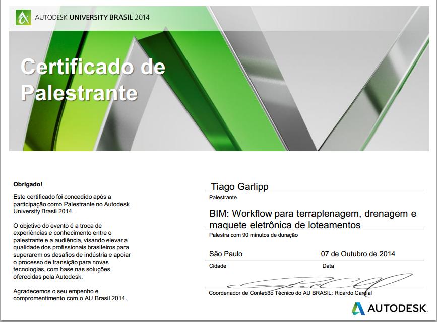 Certificação AU