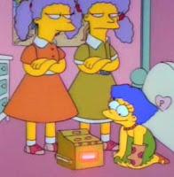 Mała Marge i jej siostry