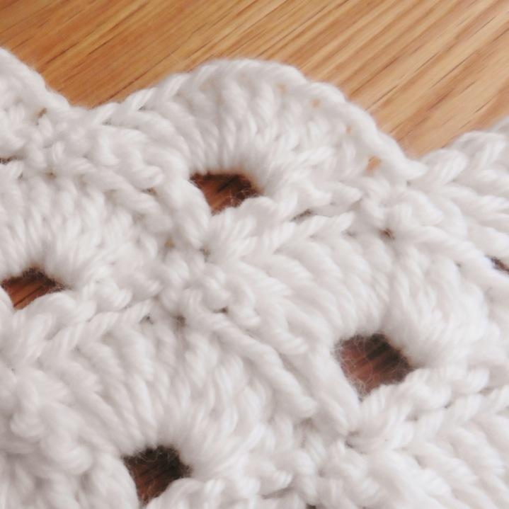 Bufanda de Abanicos a Crochet - Ahuyama Crochet