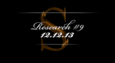 Research #9 - 12.12.13