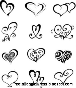 Small Heart Tattoos on Pinterest  Heart Finger Tattoos Heart