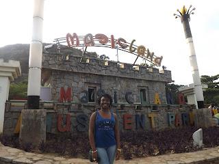 Chiamaka at Magicland