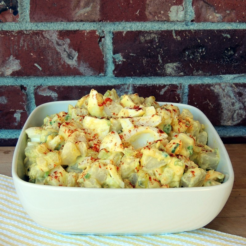 50 summertime recipes for my 50th birthday bash bobbi 39 s for How to make homemade deviled egg potato salad