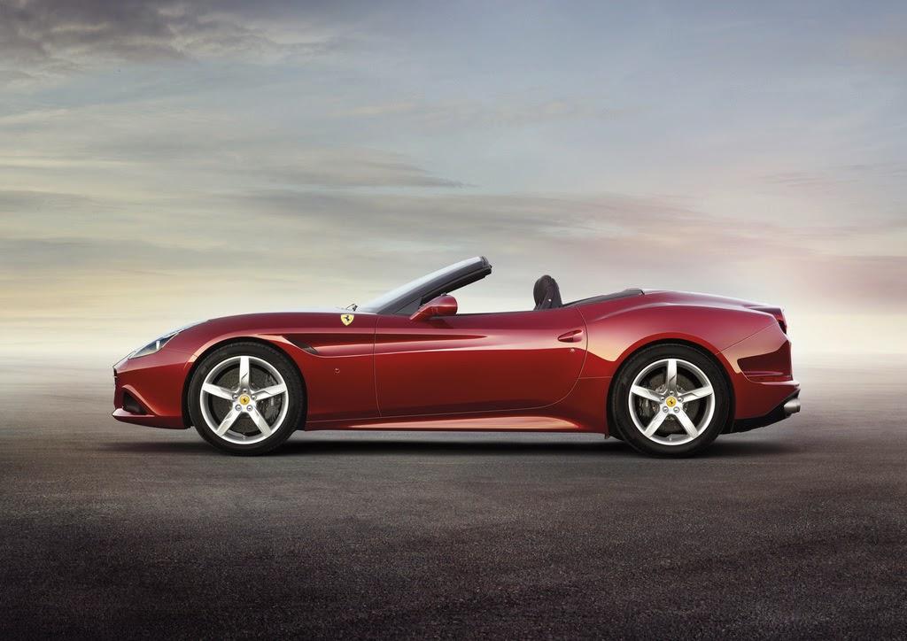 2014 Ferrari California T  side