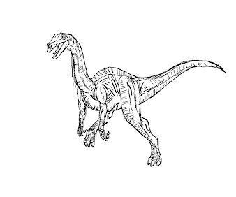 #12 Jurassic Park Coloring Page