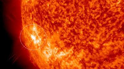 mancha solar AR1504