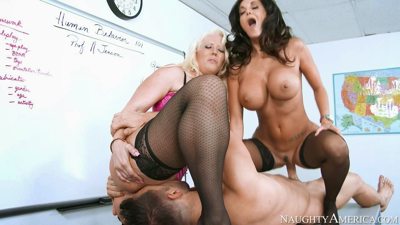 Alura jenson in teaching a christian church boy some lessons 4
