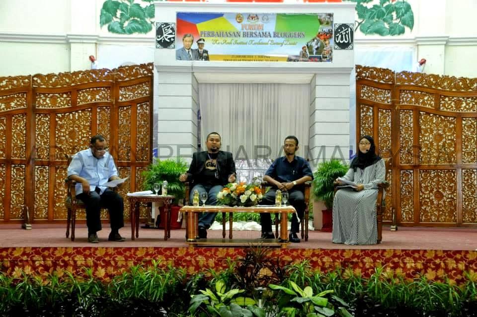 Forum Perbahasan Bersama Bloggers