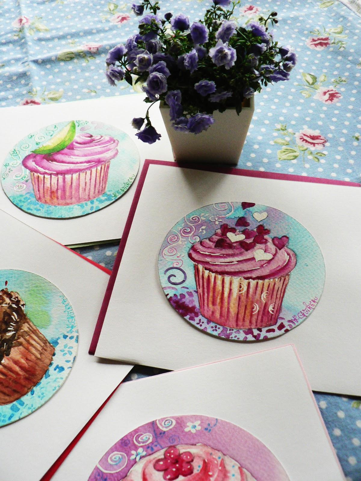 Atelier d 39 art au fil des couleurs cupcakes - Au fil des couleurs ...