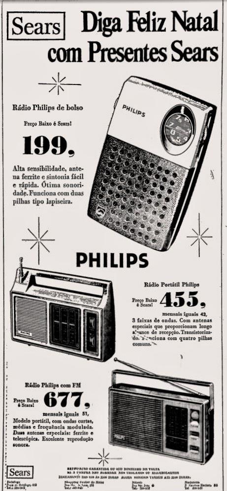 philips. década de 70. os anos 70; propaganda na década de 70; Brazil in the 70s, história anos 70. Oswaldo Hernandez;
