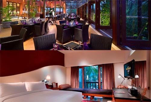Hard Rock Hotel Bali, hotel bergaya Rock 'n Roll