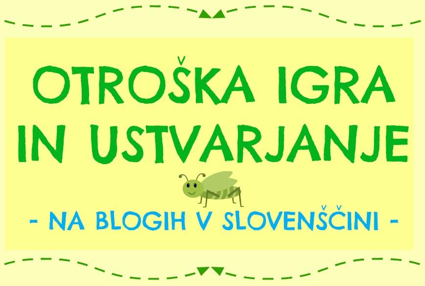 Pinterest tabla - otroška igra in ustvarjanje - s slovenskih blogov