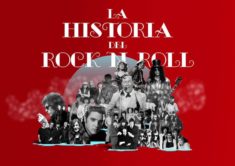 La historia del rock roll for Espectaculo historia del rock