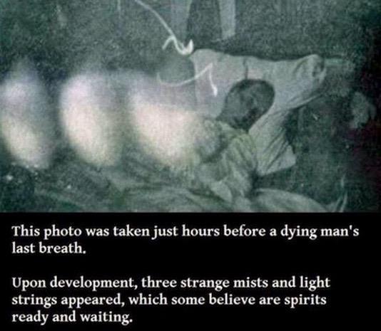 Saksikan Gambar Hantu yang Terakam Kamera