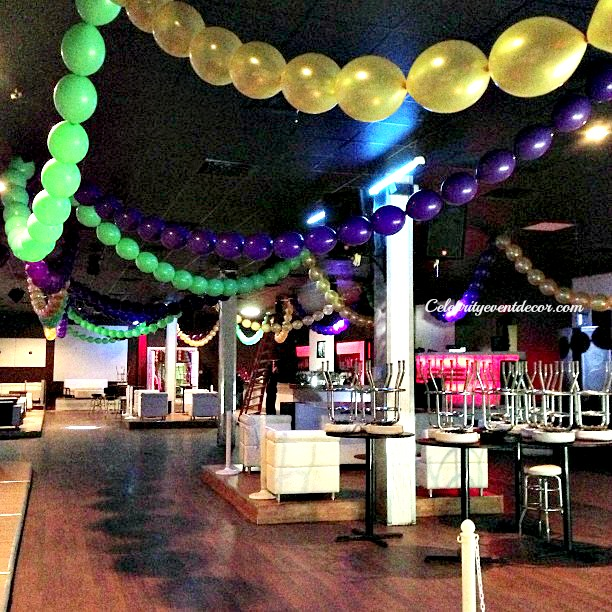 Http Celebrityeventdecor Blogspot Com 2013 02 Magnificent Mardi Gras Balloon Decor Html