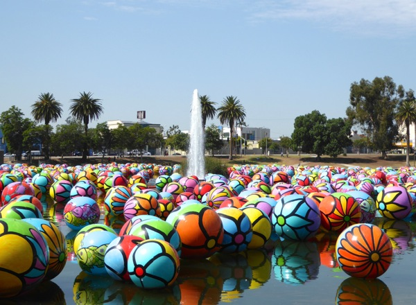 Spheres at MacArthur Park 2015