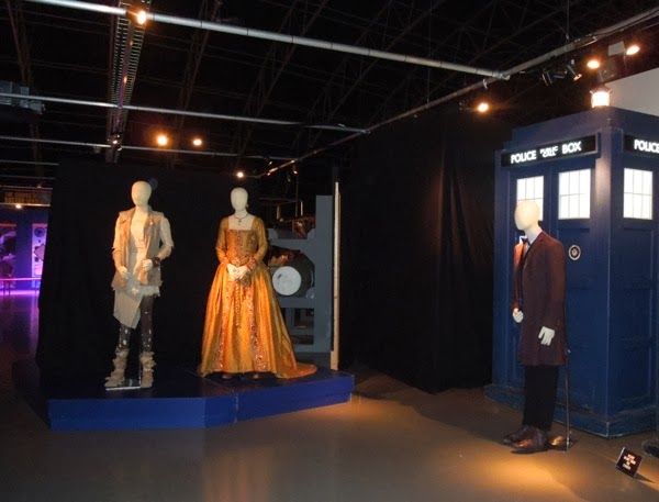 Doctor Who Day of the Doctor exhibit