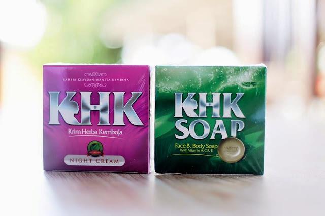 set krim herba kemboja dan sabun herba kemboja, khk soap, khk face and body doap, shk