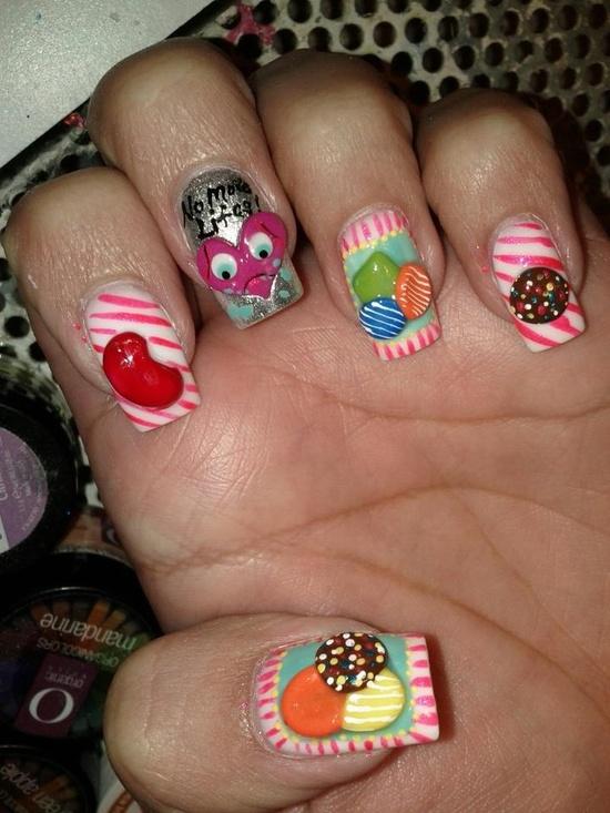 Nail Art Candy Crush