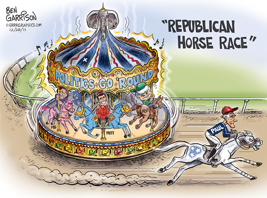 ron paul cartoon