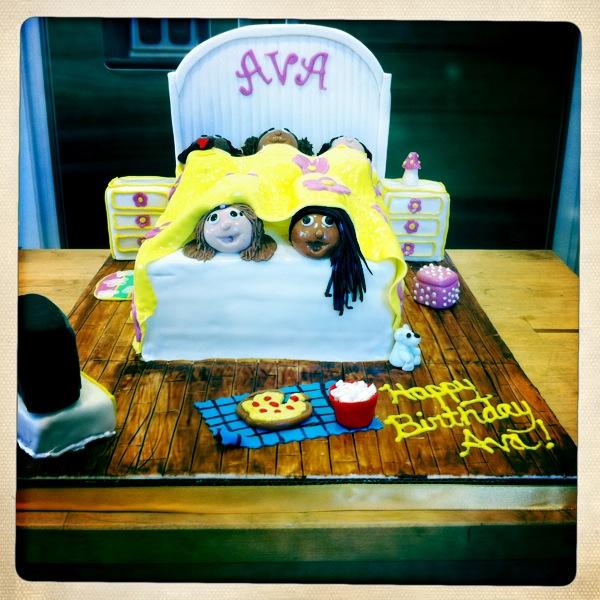 Sift By Kara Sleepover Birthday Cake