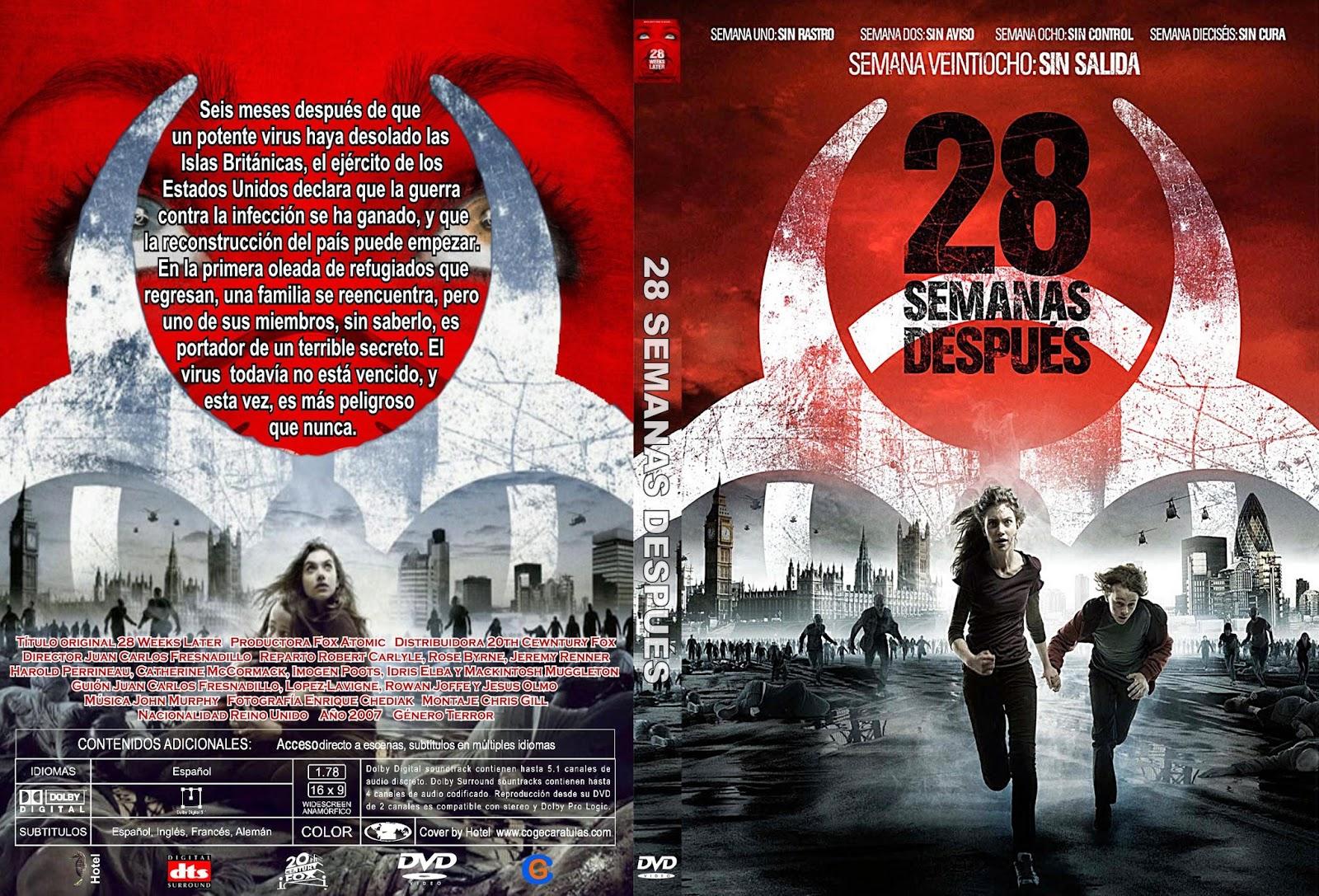 """Cartel de """"28 semanas después"""" en español"""