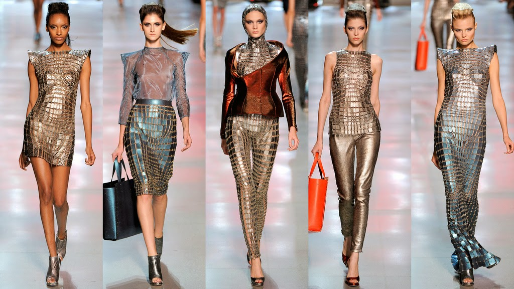 Пластика материала в одежде
