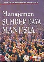 toko buku rahma: buku MANAJEMEN SUMBER DAYA MANUSIA, pengarang abdurahhmat fathoni, penerbit rineka cipta