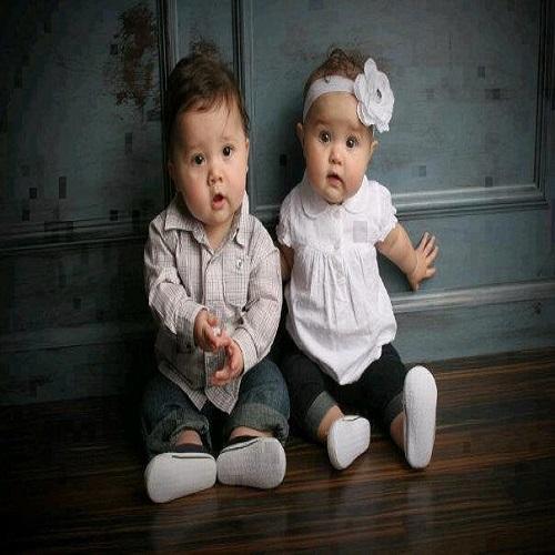 Photos de jumeaux