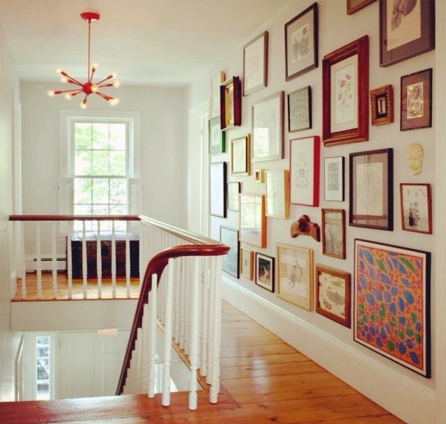 Ideas para conseguir una buena composición con cuadros, fotografías y láminas