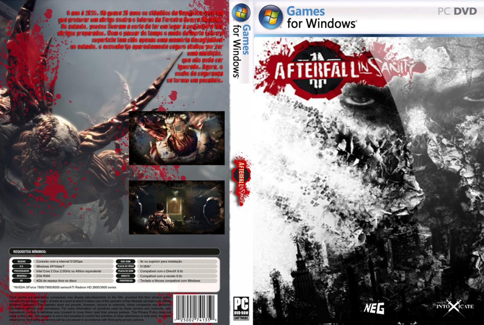 Afterfall  InSanity pc game download