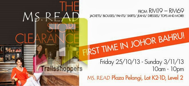 The Ms.Read Store Clearance Johor Bahru 2013