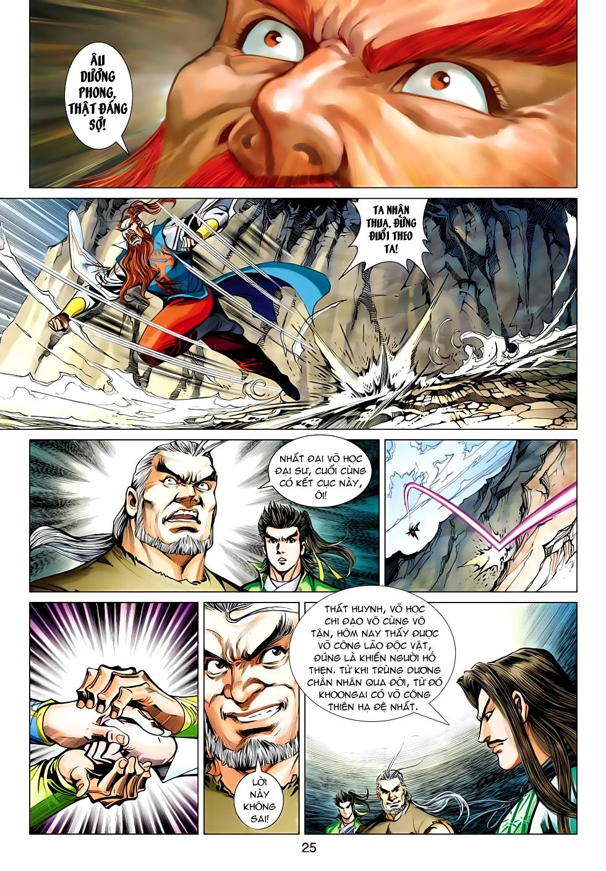 Xạ Điêu Anh Hùng Truyện chap 100 – End Trang 25 - Mangak.info