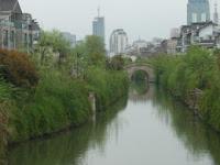 中国旅行記、写真は蘇州の美しい運河