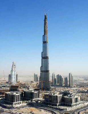 The World Visit Dubai Tallest Building Opening