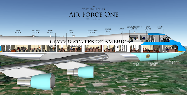Barack Obama s India Visit  Here is sneak peek into the US President s    Obama Air Force One Interior