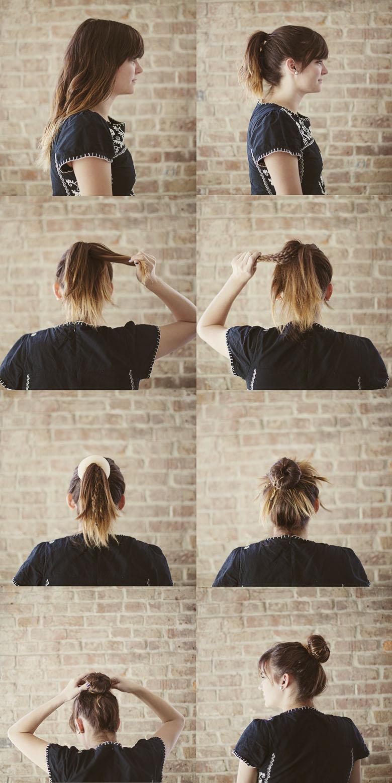 Sincerely kinsey braided ballerina bun hair tutorial braided ballerina bun hair tutorial baditri Gallery
