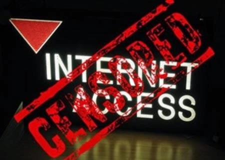 bloqueo de internet, censura por gobiernos, copyright, ISP y otros.